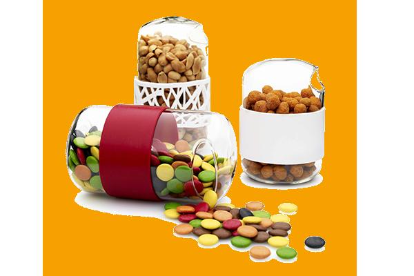 Behållare för snacks