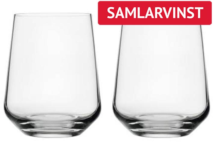 Essence selterglas 2-p